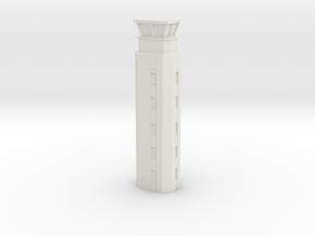 Airport ATC Tower 1/144 in White Natural Versatile Plastic