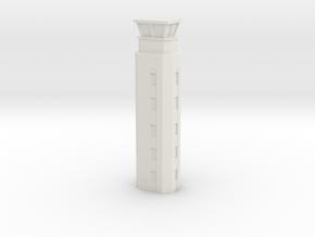 Airport ATC Tower 1/160 in White Natural Versatile Plastic