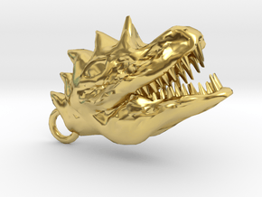 kyoryu toubu.V02 in Polished Brass