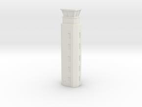 Airport ATC Tower 1/400 in White Natural Versatile Plastic