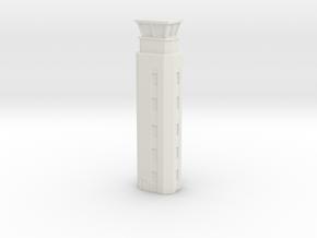 Airport ATC Tower 1/500 in White Natural Versatile Plastic