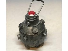 Impact Grenade Prop (SW:BFII) in White Processed Versatile Plastic