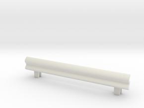 Guard Rail 1/43 in White Natural Versatile Plastic
