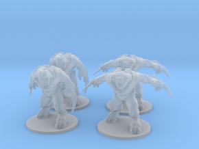 Fire Barons 6mm Infantry Epic demon models fantasy in Smooth Fine Detail Plastic