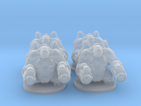 Mancubus 6mm Infantry Epic demon models monsters in Smooth Fine Detail Plastic