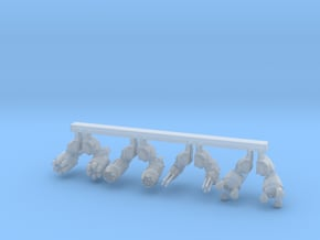 Behemoth Weapon Set in Smooth Fine Detail Plastic: Small