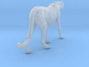Cheetah 1:35 Walking Male 5 in Smooth Fine Detail Plastic
