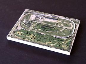 Indianapolis Motor Speedway, IN, USA, 1:10000 in Full Color Sandstone
