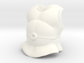 Spyster Armor VINTAGE in White Processed Versatile Plastic