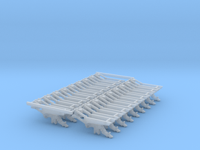 1.6bu HD Spring DF Large Pieces (18) in Smooth Fine Detail Plastic