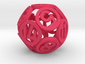 Hollow 55mm d14 in Pink Processed Versatile Plastic