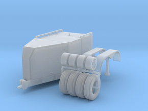 500 Fuel Trailer in Smooth Fine Detail Plastic