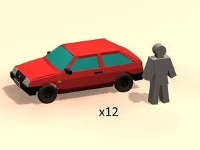 6mm LADA 2108 x12 in Smoothest Fine Detail Plastic