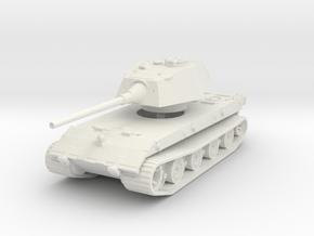 E-100 Tank 1/144 in White Natural Versatile Plastic