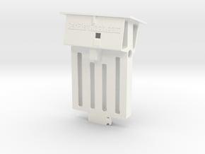 Audi TT dock for iPhone 5/5s/SE in White Processed Versatile Plastic