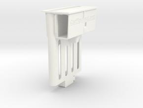Audi TT dock for iPhone X/XS/11 Pro in White Processed Versatile Plastic