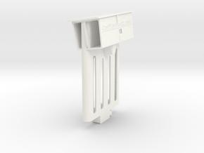 Audi TT dock for iPhone 6/6s/7/8/SE2 in White Processed Versatile Plastic