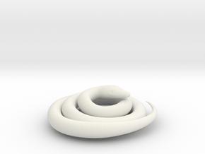 Python snake in White Natural Versatile Plastic