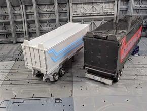 TF Earthrise Prime Trailer G1 Style Door in White Natural Versatile Plastic