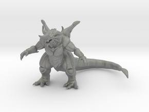 Bagan kaiju monster 85mm miniature game fantasyRPG in Gray PA12