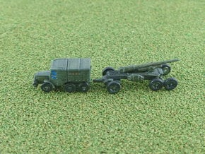Laffly S 35 T with 155mm GPF-T Gun 1/285 6mm in Smooth Fine Detail Plastic