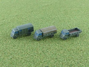 French Renault AHN Truck 1/285 6mm in Smooth Fine Detail Plastic