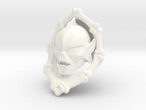 Hordeleader Head + Bonecollar in White Processed Versatile Plastic