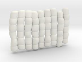 1/30 IJN Akagi Tower Futons SET 14 in White Natural Versatile Plastic