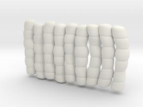 1/30 IJN Akagi Tower Futons SET 9 in White Natural Versatile Plastic
