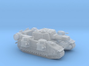 Super Heavy Tank Bravo in Smooth Fine Detail Plastic