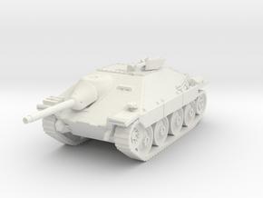 Jagdpanzer 38(t) late 1/87 in White Natural Versatile Plastic