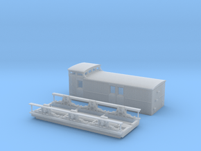 VR N Scale Z/ZL Guard Wagon in Smoothest Fine Detail Plastic