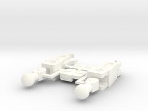 ER: Snap Kit for Snapdragon in White Processed Versatile Plastic