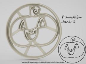 Cookie cutter Pumpkin Jack 1 in White Natural Versatile Plastic