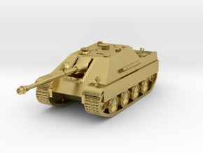 Tank - Jagdpanther - size Large in Natural Brass