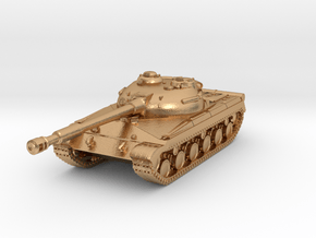 Tank - T-64 - Object 430 - scale 1:160 in Natural Bronze