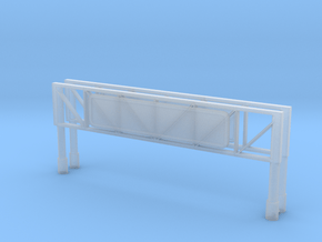 Highway Overhead Sign (x2) 1/400 in Smooth Fine Detail Plastic