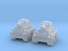Metal Slug Rebel Tanks 6mm vehicle miniature model in Smooth Fine Detail Plastic