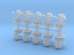 Crab Monsters 6mm infantry miniature models games in Smooth Fine Detail Plastic