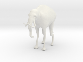 Monster Elephant Limited Edition in White Natural Versatile Plastic