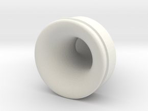 Tuned Intake - GTS in White Natural Versatile Plastic