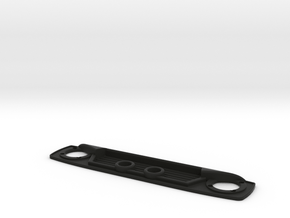 VS4-10 Grille V2 Lights On in Black Natural Versatile Plastic
