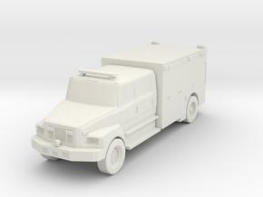Freightliner Ambulance 2020 - HOscale in White Natural Versatile Plastic