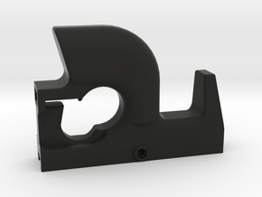 P90 Style Ultralight Foregrip For Picatinny in Black Natural Versatile Plastic