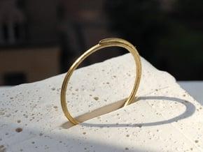 5 Crete in Polished Brass