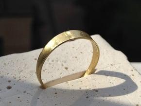 8 Transversale in Polished Brass