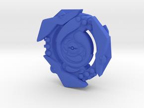 Greninja Poke'bey in Blue Processed Versatile Plastic