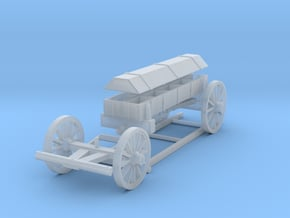 Carolean Bullet wagon in Smooth Fine Detail Plastic: 1:56
