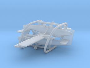 de Havilland Canada DHC-6 Twin Otter in Smooth Fine Detail Plastic: 1:500