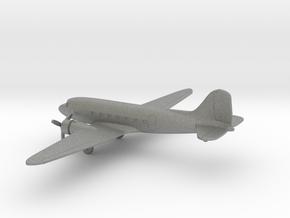 Douglas DC-3 in Gray PA12: 6mm